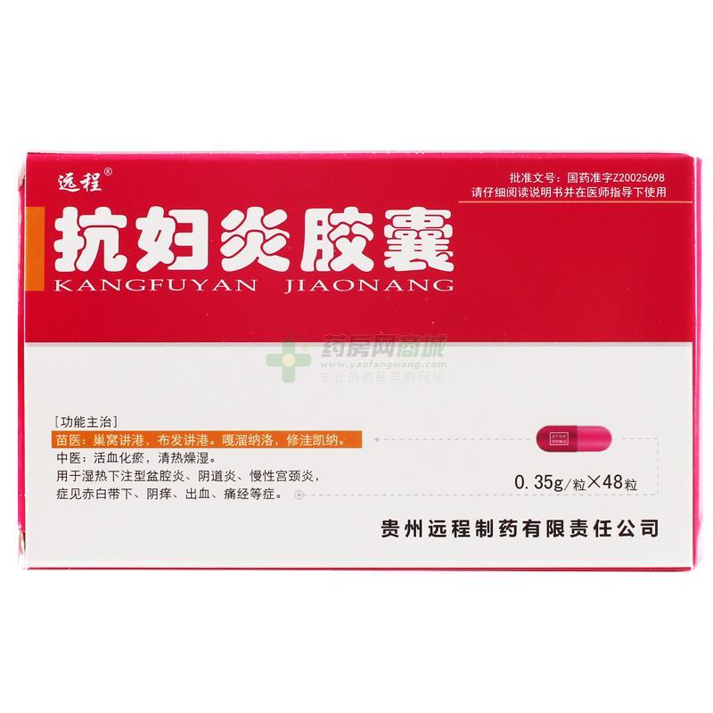 抗妇炎胶囊